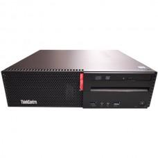 Calculator Lenovo ThinkCentre M800 Desktop, Intel Core i7 Gen 6 6700 3.4 GHz, 8 GB DDR4, 256 GB SSD, DVD-ROM, Windows 10 Pro, 3 Ani Garantie