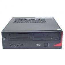Calculator Fujitsu Esprimo E420 Desktop, Intel Core i5 Gen 4 4590 3.4 GHz, 4 GB DDR3, 128 GB SSD NOU, DVDRW, Windows 10 Home, 3 Ani Garantie
