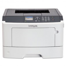 Imprimanta LaserJet Monocrom, A4, Lexmark MS415dn, 38 pagini/minut, 80.000 pagini lunar, 1200 x 1200 DPI, Duplex, USB, LPT, Network, Toner Inclus