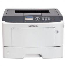 Imprimanta LaserJet Monocrom, A4, Lexmark MS415dn, 38 pagini/minut, 80.000 pagini lunar, 1200 x 1200 DPI, Duplex, USB, LPT, Network, Toner Inclus, 2 Ani Garantie