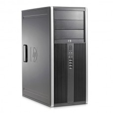 Calculator HP Elite 8000 Tower, Intel Core 2 Duo E8400 3.0 GHz, 4 GB DDR3, 250 GB HDD SATA, DVDRW, Windows 10 Home, 3 Ani Garantie