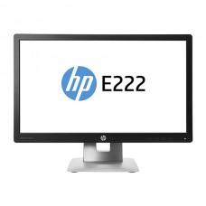 Monitor 22 inch LED, IPS, Full HD HDMI, HP EliteDisplay E222, Black & Silver, 3 Ani Garantie